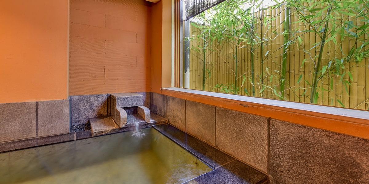 露天風呂付特別客室 花かすみの間(浴室)